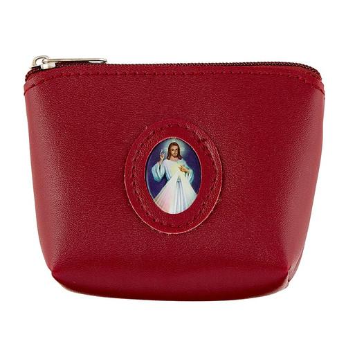 Divine Mercy Medallion Rosary Case
