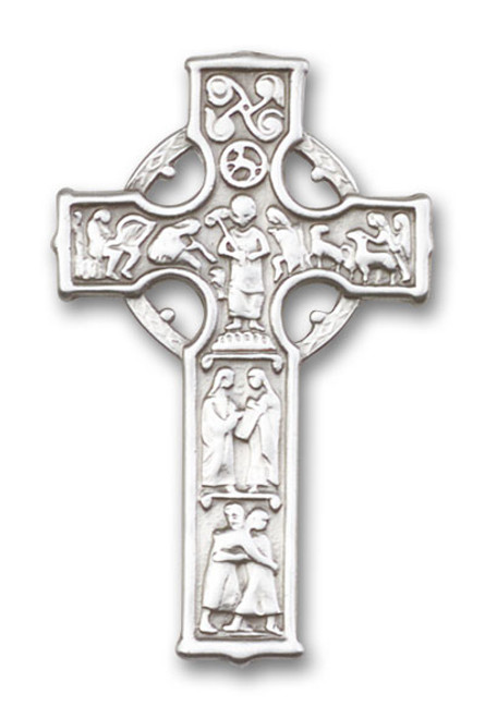 Celtic Cross Visor Clip | Multiple Finishes Available