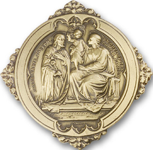 Holy Family Visor Clip | Multiple Finishes Available