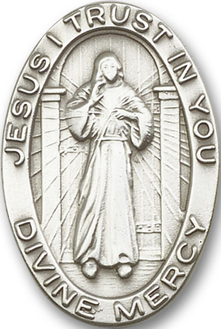 Divine Mercy Visor Clip | Multiple Finishes Available