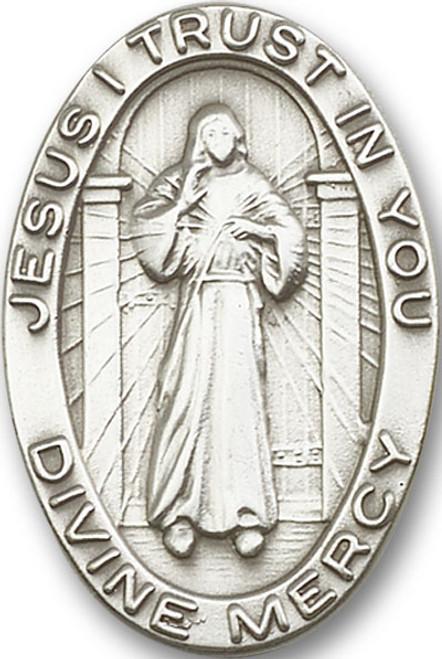 Divine Mercy Visor Clip | Multiple Finishes Available