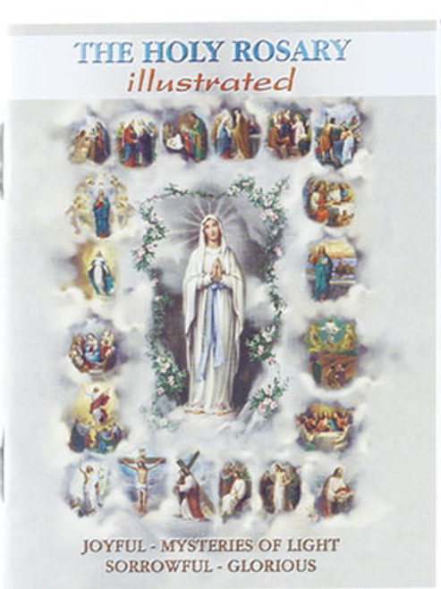 The Holy Rosary Illustrated Booklet | Pocket Edition