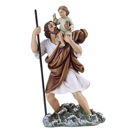 """4"""" St. Christopher Statue 