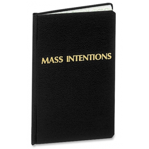 Mass Intentions Record Book