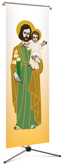 Year of Saint Joseph Banner | 3' x 10'
