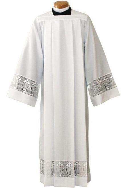 #4216 IHS Lace Surplice Alb | Silky Smooth Poplin Polyester