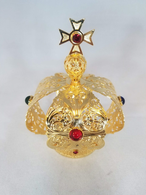 "Infant of Prague Crown for 14"" Statue"