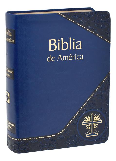Biblia de America | Blue
