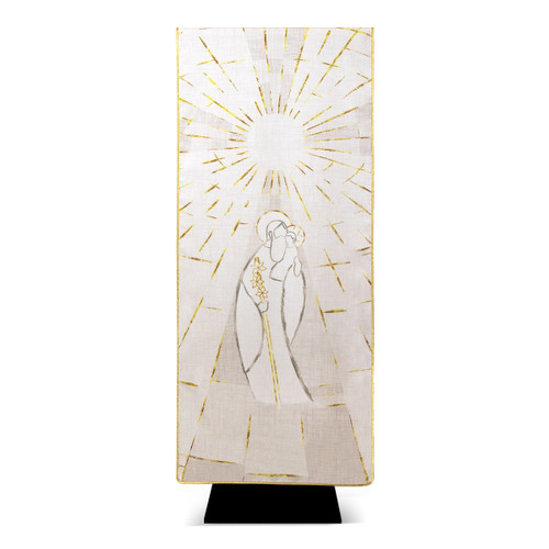 #6093 Year of Saint Joseph Printed Lectern Cover | 100% Polyester | Made in Italy