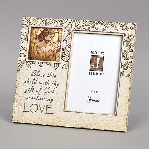 """8"""" Jesus Loves Me Picture Frame 
