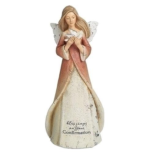 "7"" Confirmation Angel Figure | Resin"