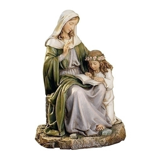 "7"" St. Anne Figure | Renaissance Collection | Resin/Stone"
