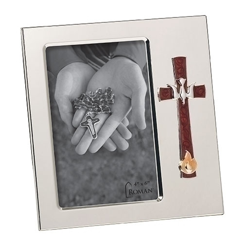 """7"""" Dove & Red Cross Confirmation Frame 