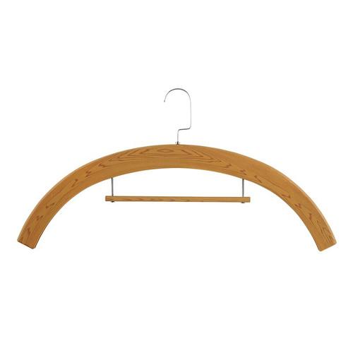 Wood Tone Plastic Hangers | Pack of 6