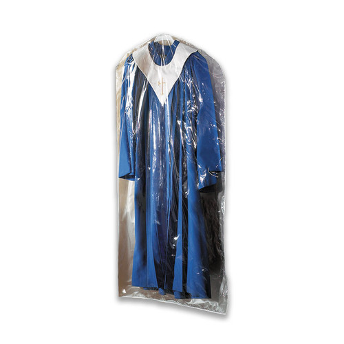 Large Deluxe Clear Vinyl Vestment Bag | Pack of 2