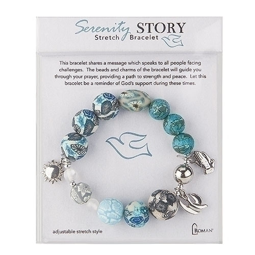 Serenity Story Clay Payer Bracelet | Support Through Hard Times