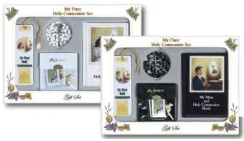 Girl's First Communion Gift Set | Full Color Book