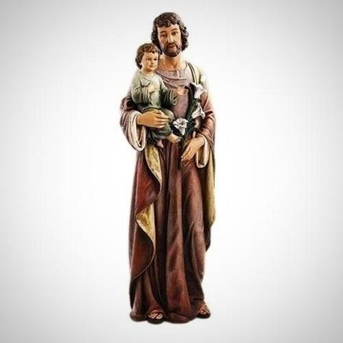 """62"""" St. Joseph with Child Statue 
