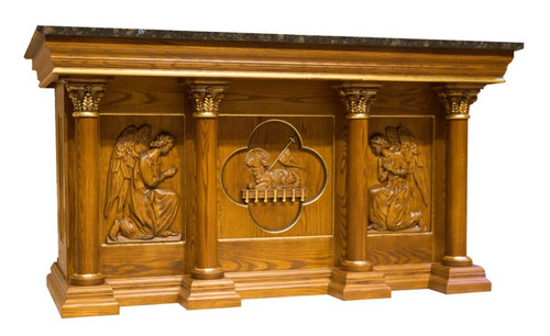 #48 Custom Engraved Altar of Sacrifice | Oak | Multiple Finishes Available