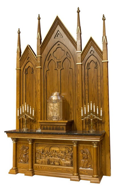 #48 Custom Altar of Repose | Oak | Multiple Finishes Available