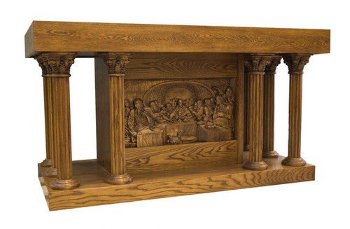 #49 Last Supper Altar of Sacrifice | Oak | Multiple Finishes Available