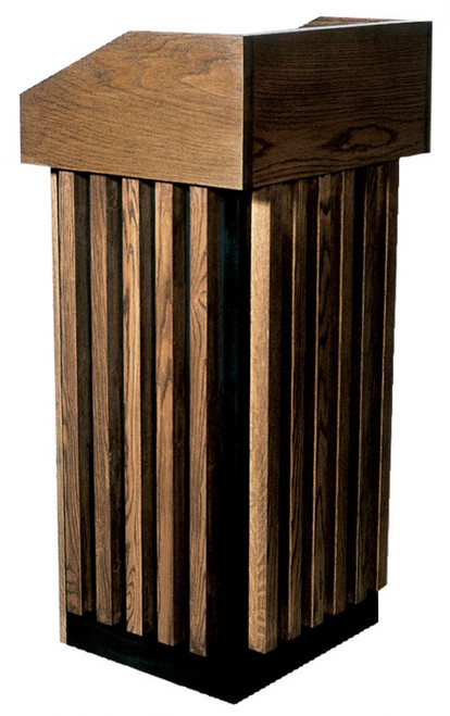 #100 Lectern | Oak | Multiple Finishes Available