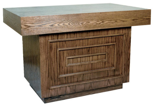 #500 Altar of Sacrifice | Oak | Multiple Finishes Available