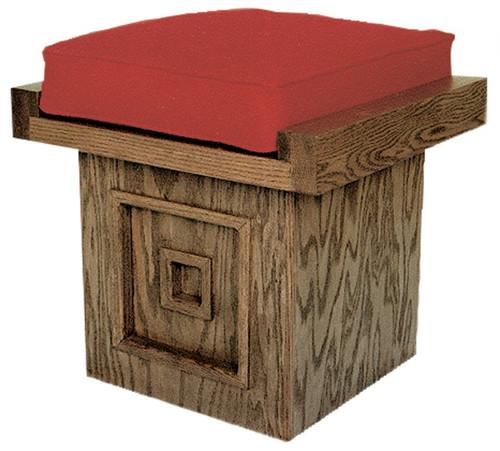 #500 Acolyte Stool | Oak | Multiple Finishes Available