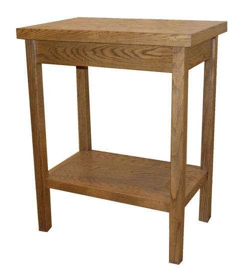 Solid Oak Credence Table | Multiple Finishes Available