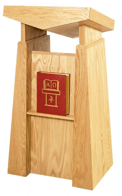#800 Lectern | Oak | Multiple Finishes Available
