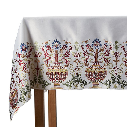 """Coronation Altar Frontal - Multicolor Embroidery 
