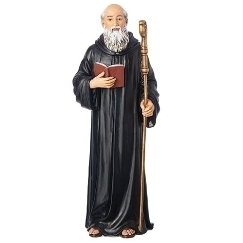 "6"" St. Benedict Statue 