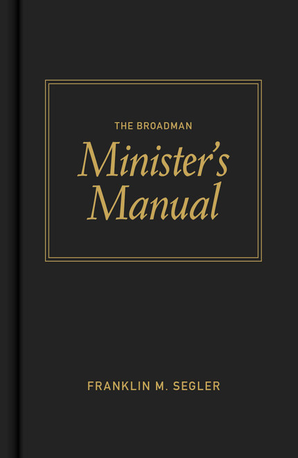 The Broadman Minister's Manual | Hardcover