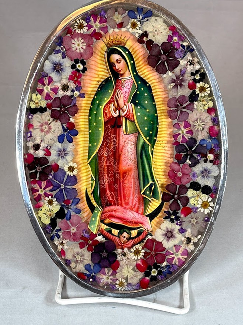 """8"""" Our Lady of Guadalupe Plaque 