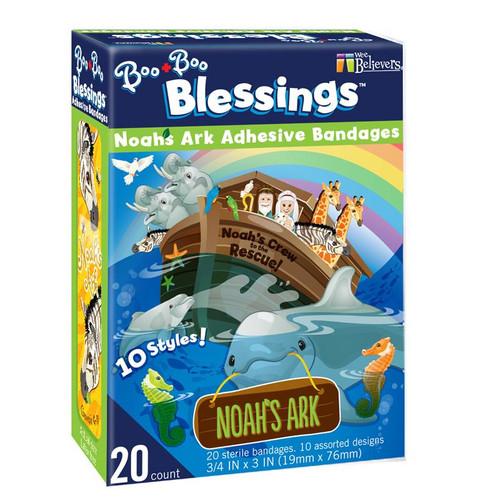 Boo Boo Blessings Noah's Ark Bandages | Box of 20