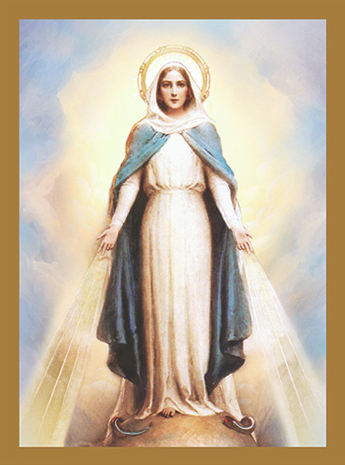 Our Lady of Grace - Custom Mass Cards | Box of 100