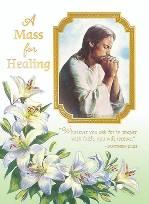 A Mass For Healing - Custom Mass Cards | Box of 50
