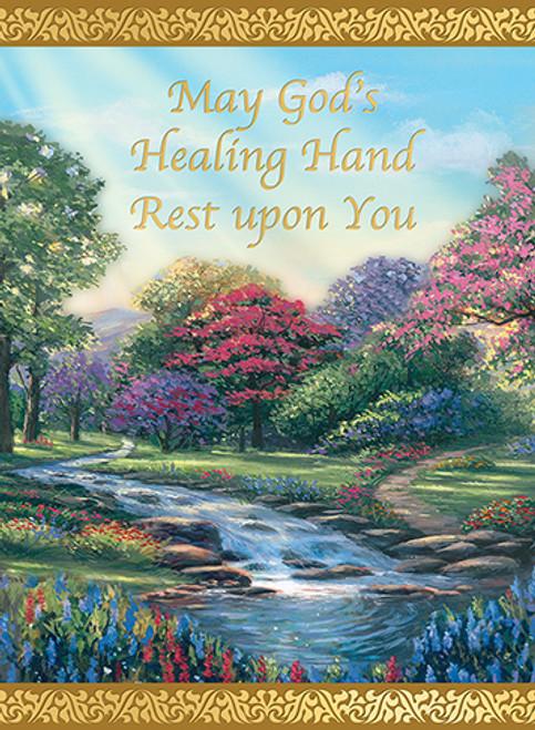 God's Healing Hand - Custom Mass Cards | Box of 25