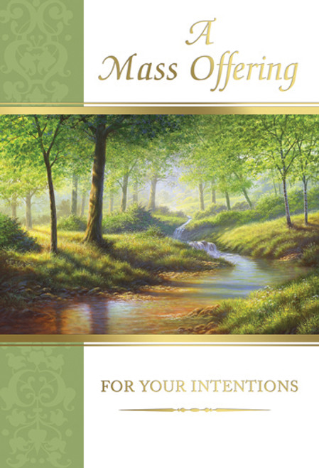 A Mass Offering for Your Intentions - Custom Mass Cards | Box of 50