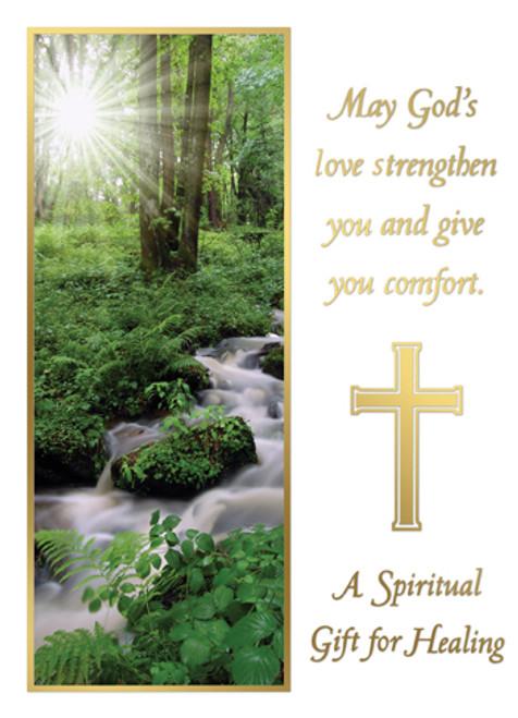 A Spiritual Gift for Healing - Custom Mass Cards | Box of 50