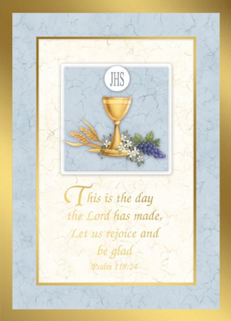 Psalm 118:24 - Custom Mass Cards | Box of 50