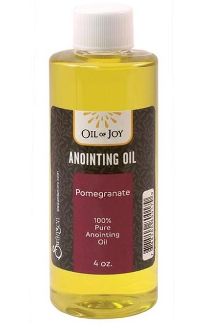 Pomegranate Anointing Oil | 4 oz Bottle