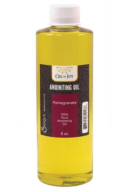 Pomegranate Anointing Oil | 8 oz Bottle