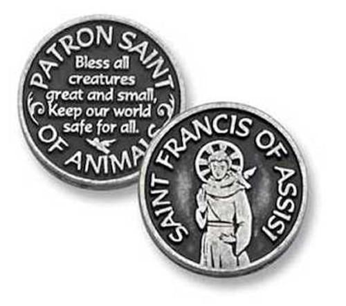 St. Francis Pocket Token Coin