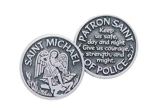 St. Michael Pocket Token Coin