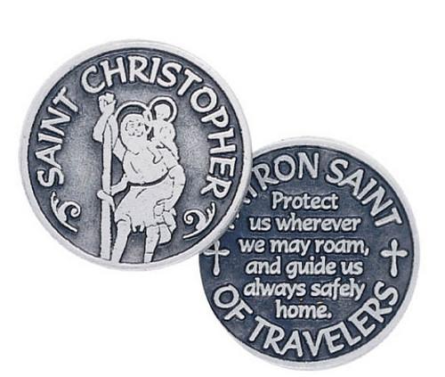 St. Christopher Pocket Token Coin