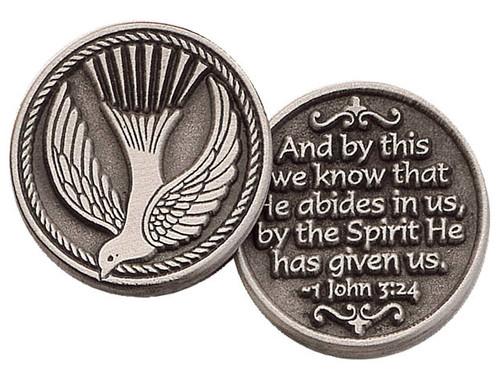 Holy Spirit Pocket Token Coin