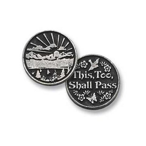 This Too Shall Pass Pocket Token Coin