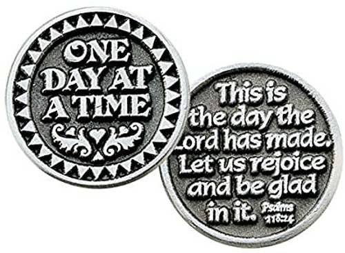 One Day At A Time Pocket Token Coin