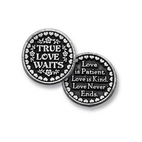 True Love Waits Pocket Token Coin